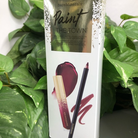 bareMinerals Other - bareMinerals Paint the Town Lip Duo